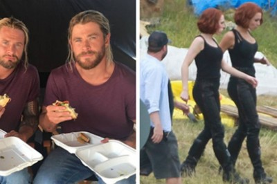 These Photos Show Us Why Being Stunt Double On The Avengers Set Is The Coolest Job In The World