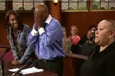 A Touching Moment Happens In Courtroom, When Judge Judy Lets Stolen Dog Find Its Real Owner