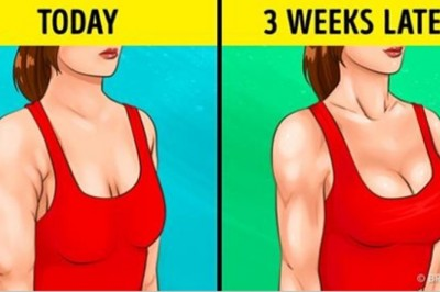 These 10 Effective Exercises Will Help You Achieve Firm Arms And Tight Breasts