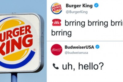 This Conversation Between Burger King And Budweiser May Just Be The Best Tweet Exchange Ever