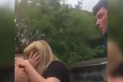 Guy Hits His Girlfriend In Front Of Her Teenager Son And Instantly Regrets This Decision!